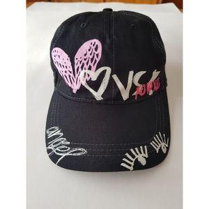 Victoria's Secret Graffiti Baseball Hat